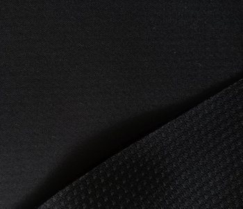 Borax = dunne softshell zwart: wind-, waterdicht en ademend!