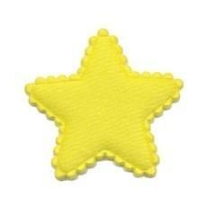 sterretje geel vilt