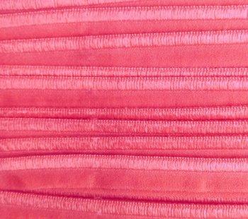 elastisch paspelband, roze