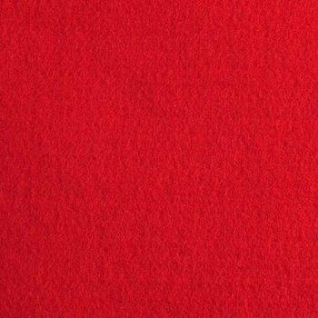 borduurvilt 1,1 mm rood 90cm