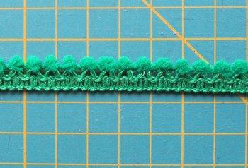 minibolletjesband, grasgroen