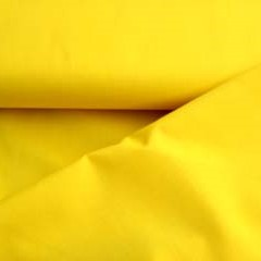 Noah: waterdichte jassenstof: geel, echt kanariegeel