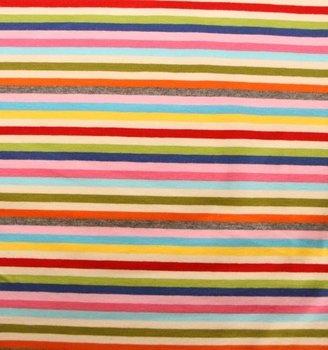 Gala: streepjestricot met goede stretch/allerlei kleuren