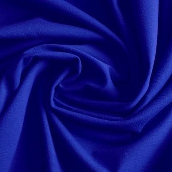 Gitte: tricot kobaltblauw/ 160cm breed