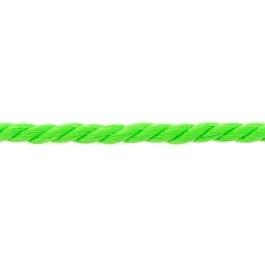 Koord 5 mm gedraaid, neon groen