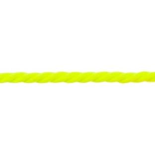 Koord 5 mm gedraaid, neon geel
