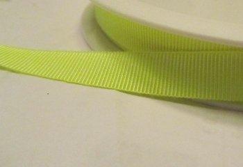 neongeel ribsband 1cm