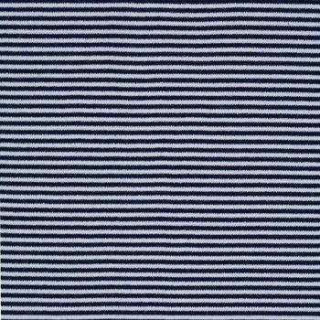 boordstof gestreept donkerblauw/wit