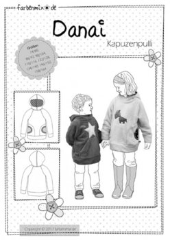 DANAI, capuchonsweater