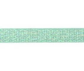 oud groen elastiek met glitterdraad