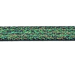 donkerblauw elastiek met glitterdraad