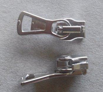 runnertje zilverkleurig 4mm