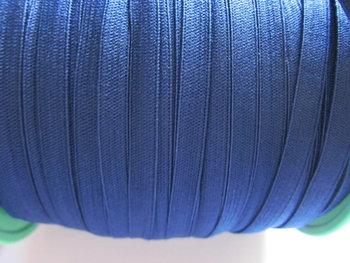 0,6 cm elastiek blauw