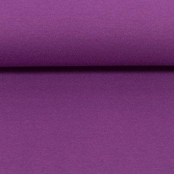 Heike: fijne boordstof paars