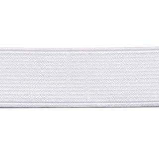 elastiek wit 3,8 cm