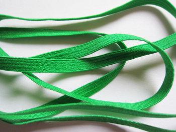 0,6 cm elastiek groen