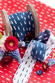 Sew and more: Pinselstrich van Lila-Lotta 3 cm breed!
