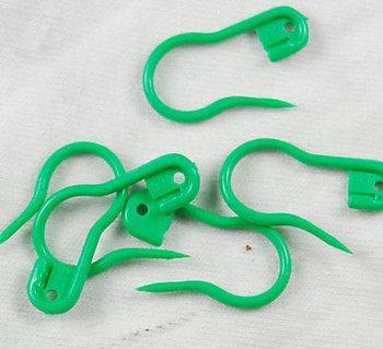 veiligheidsspeld groen