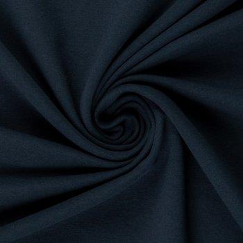 Maike: french terry diepdonkerblauw van Swafing