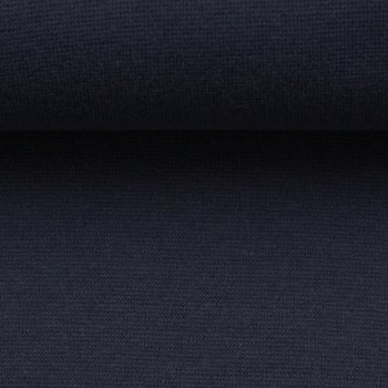 Heike: fijne boordstof diepdonkerblauw