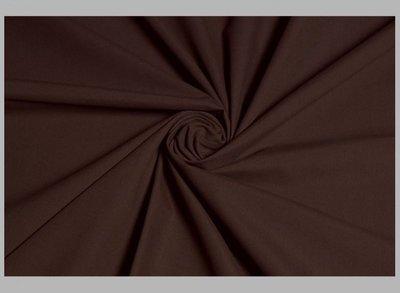 siliconpoplin (chintz)  chocoladebruin