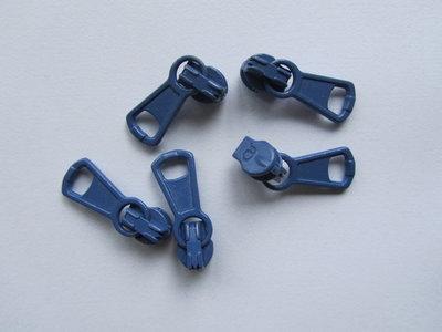 runnertje jeansblauw 4mm