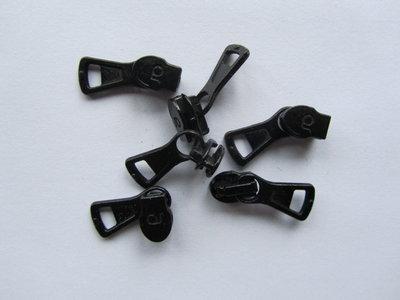 runnertje zwart 4mm