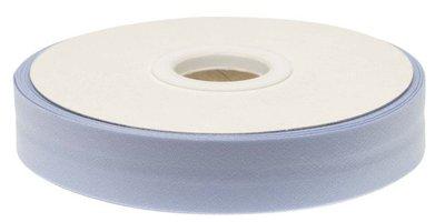 biaisband 20 mm, lichtblauw