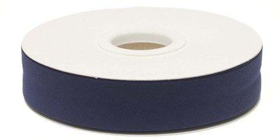 biaisband 20 mm, donkerblauw