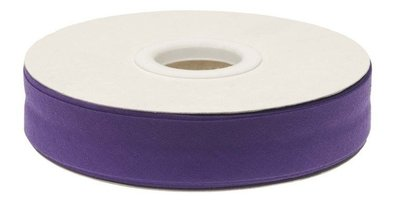biaisband 20 mm, paars (meer paars dan op de foto)