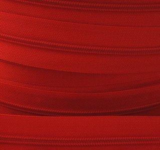rits aan de meter, helder rood 4mm