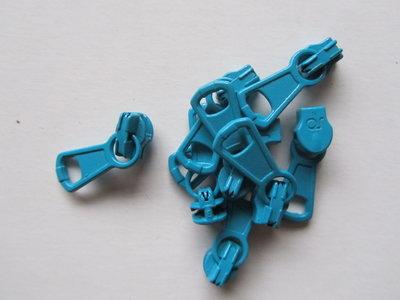 runnertje turquoise 4mm