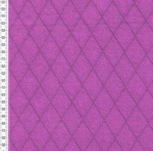 Silke: een gesteppte doubleface tricot paars