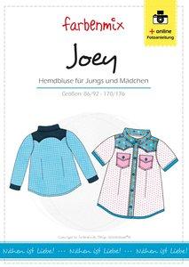 JOEY, overhemdblouse