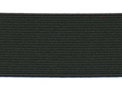 elastiek zwart 3,5 cm