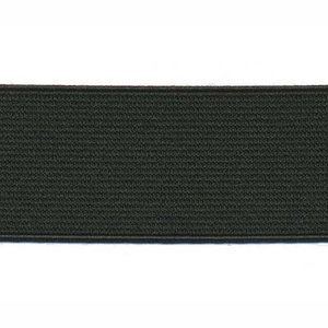 elastiek zwart 3 cm breed