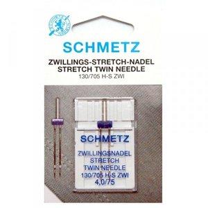 Schmetz stretch twin 4.0/75