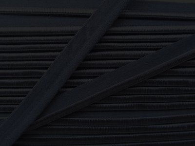 elastisch paspelband, donkerblauw