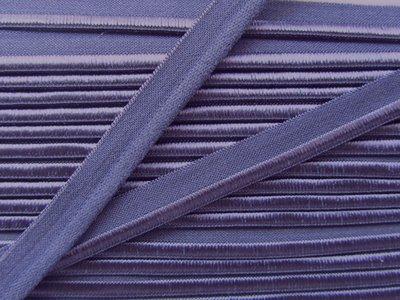 elastisch paspelband, lichtblauw-paars