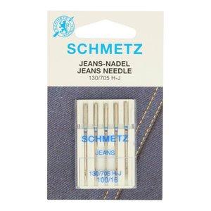 Schmetz jeansnaalden nr 100