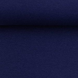 Heike: fijne boordstof donker-kobaltblauw