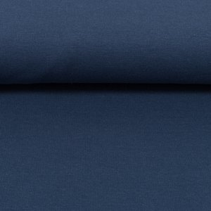 Heike: fijne boordstof jeansblauw