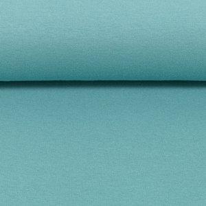 Heike: fijne boordstof zeegroen/turquoise