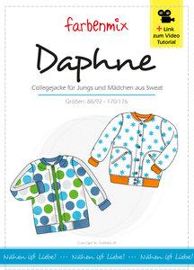 DAPHNE, vest in college stijl