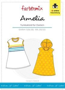 Amelia, tuniek voor dames in de maten S t/m XXL