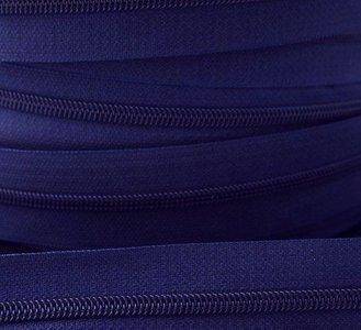 rits aan de meter, donkerkobaltblauw 4mm