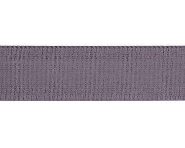 taille-elastiek 4 cm breed: effen lila /HALVE METER