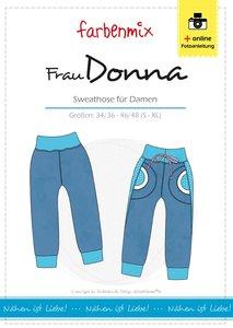 Frau DONNA, patroon van een joggingbroek