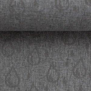 Pondero = reflecterende softshell: druppels op grijs