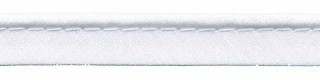 paspelband wit met 4 mm dik koord